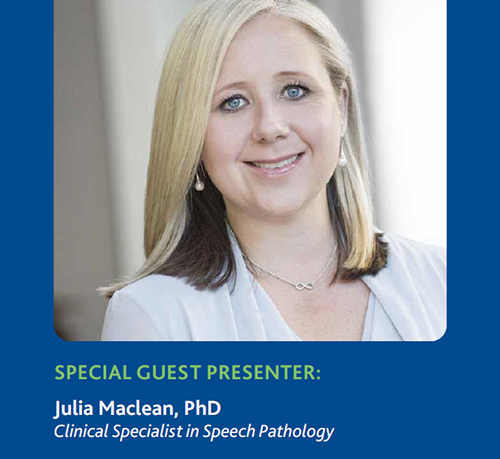 Guest presenter: Julia Maclean, PhD