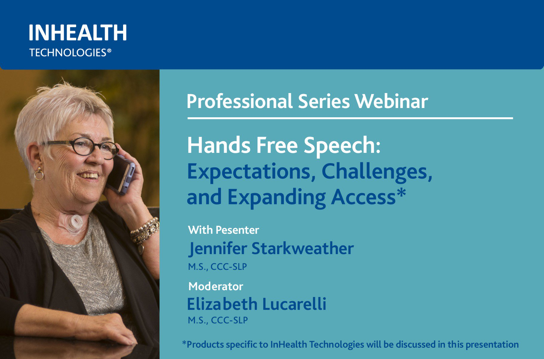 Hands Free Speech: Expectations, Challenges, and Expanding Access