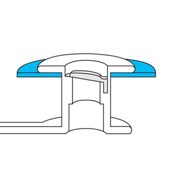 Large Esophageal Flange - cutaway
